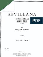 Sevillana Jaoquin Turina