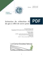 20100226 Encilowcarb Rapport Scenarios Existants