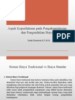 13. Aspek Keperilakuan pada Pengakumulasian dan Pengendalian Biaya