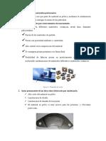 Características de los materiales pulvurentos