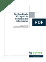 benefit of 3D city GIS