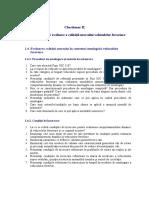Chestionar II_Curs 1. Metode de evaluare a calitatii mersului vehiculelor feroviare
