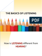 lecture on listening