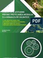 IRES_PROTEJAREA MEDIULUI SI A ANIMALELOR SALBATICE IN ROMANIA_SONDAJ NATIONAL_2021