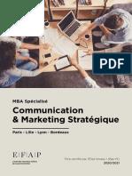 EFAP_Communication_Marketing_Strategique