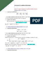 Corrigé de la série N°2 - équilibres acido-basiques
