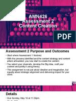 AMN426 Assessment 2