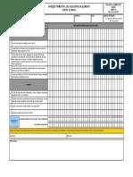 Anexo 11 - Inspecão trimestral dos acessorios de icamento cintas