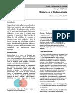 Diabetes e Biotecnologia