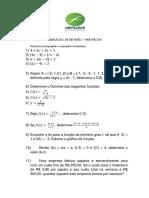 Exercícios de revisão_Elementos de Cálculo