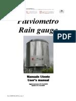 Pluviômetro manual - VAN