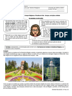 8º Ano - Material de Estudo 07 - Dia Mundial Da Religião
