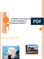 HUMAN RESOURCES AND PERFORMANCE MANAGEMENT - scribd