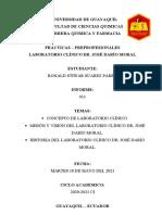 Informe 11 - Ronald Suarez - Bioquímica