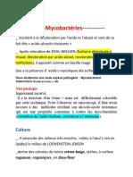 Mycobectérium tuberculosites (BK)