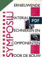 Vernieuwende materialen, technieken en componenten voor de bouw