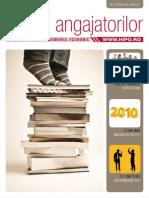 Ghidul Angajatorilor - Domeniul Economic 2010 Web Version