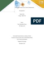 Unidad 3 Fase 3 - Aplicaciones psicosociales de las teorías contemporáneas
