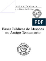 Bases Bíblicas de Missões No Antigo Testamento