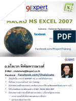 Advanced Microsoft Excel 2007 Course_Macro_9Expert_07Oct2010