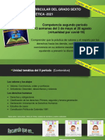 Generalidades para el II- P virtual Ética de 6° (para el blog)