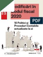 Modificari-in-Codul-fiscal2020-10-Politici-si-Proceduri-Contabile-actualizate-la-zi