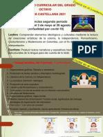 Generalidades para el II- P virtual Español de 8° (para el blog)