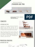 Deisgn de mobiliário - Walter