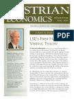 Austrian Economics Newsletter Fall 2003