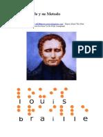 Louis Braille y su Metodo