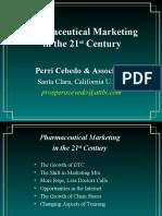 Pharma Marketing 21st