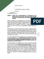 CARTA DE COMUNIDADES JUDIAS A BESSUDO