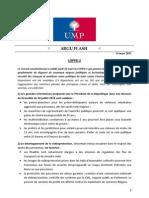 """L'""""argu flash"""" de l'UMP sur la Loppsi 2"""