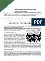 1. Historia  de la psicología - 3Medio