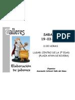 TALLER DE JABONES