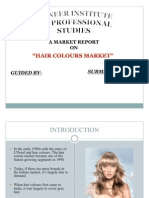Example - Hair Colour