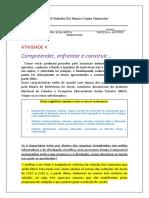 ATIVIDADE 4  Comprrender enfrentar construir TRABALHO EM TIMES.