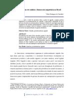 Presidencialismo de Coalizão Valter(Revisado) 1