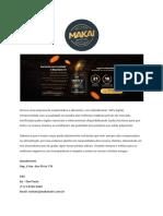 Apresentação Da Makai - Suplementos Alimentares