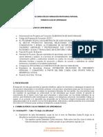 GUIA DE ESTABLECER RELACIONES DE CRECIMIENTO PERSONAL Y COMUNITARIO