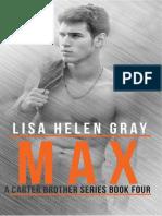 Lisa Helen Gray -Carter Brothers 04 - Max