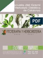 Fitoterapia y Herboristería