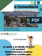 Módulo Comunitario May 2021