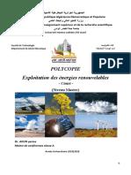 Exploitation Des Énergies Renouvelables