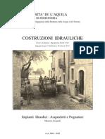 Capitolo 0 - Premessa - M. Leopardi - Costruzioni Idrauliche - Università de L'Aquila