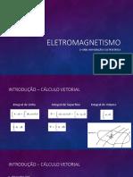 Eletromagnetismo 1ª Unid.