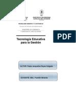 ANÁLISIS ALICIA EN EL PAÍS DE LAS TECNOLOGÍAS - Actividad 3