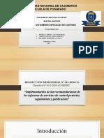RESOLUCIÓN MINISTERIAL Nº 343-2020-CG Directiva N° 014-2020-CG_Diapositivas