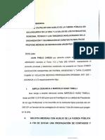 Ampliacion Denuncia a Marcelo Tinelli y Solicita Urgente Suspension Del Futbol