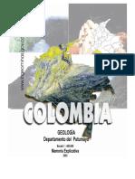 Geologia del departamento del Putumayo-Colombia